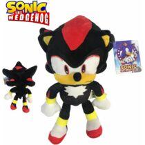 Sonic Shadow a sündisznó plüssfigura 30 cm - Shadow, a fekete hangyászsün plüss