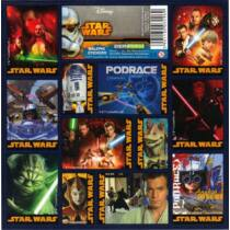 Star Wars matrica szett - többféle