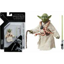 Star Wars The Black Series Archive Yoda mester figura kiegészítőkkel 7 cm