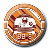 Star Wars BB-8 pici kitűző