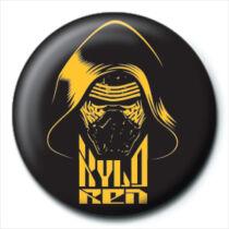 Star Wars Kylo Ren pici kitűző