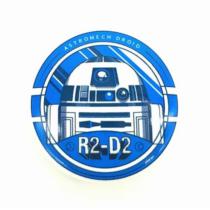 Star Wars R2D2 pici kitűző