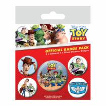 5 db-os Toy Story kitűző szett