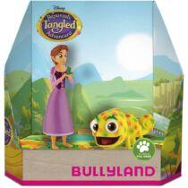 Aranyhaj és Pascal gumírozott műanyag figura szett Disney díszdobozban