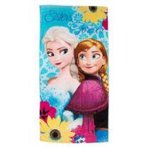 Jégvarázs Elsa Anna nagy pamut törölköző