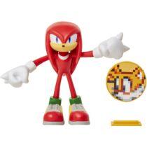 Sonic Knuckles hajlítható prémium műanyag figura 10 cm