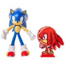 10 cm-es hajlítható prémium Sonic műanyag figura