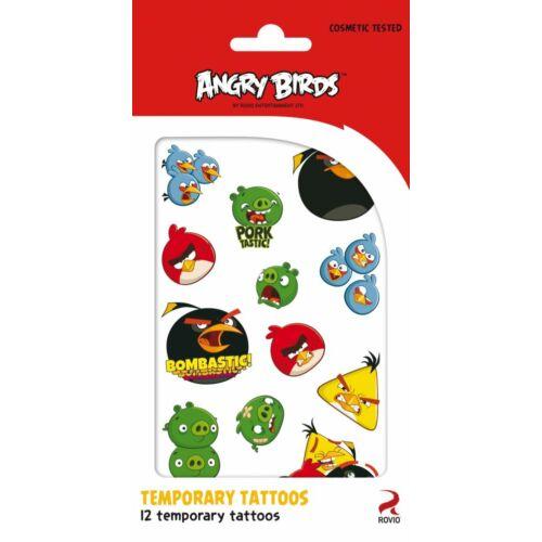 Angry Birds tetoválás