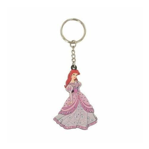 Ariel hercegnő lapos gumírozott kulcstartó