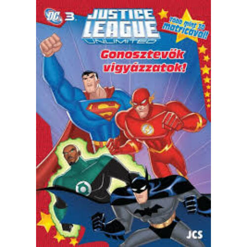 Az Igazság Ligája foglalkoztató füzet