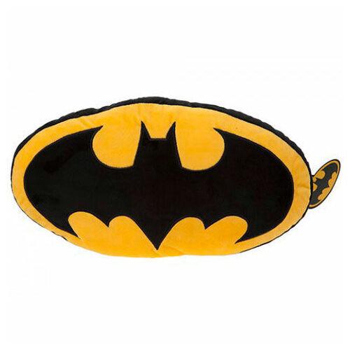 Batman logós prémium plüssös párna