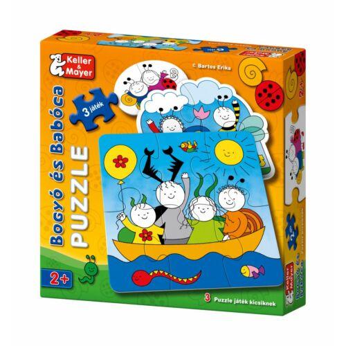Bogyó és Babóca puzzle