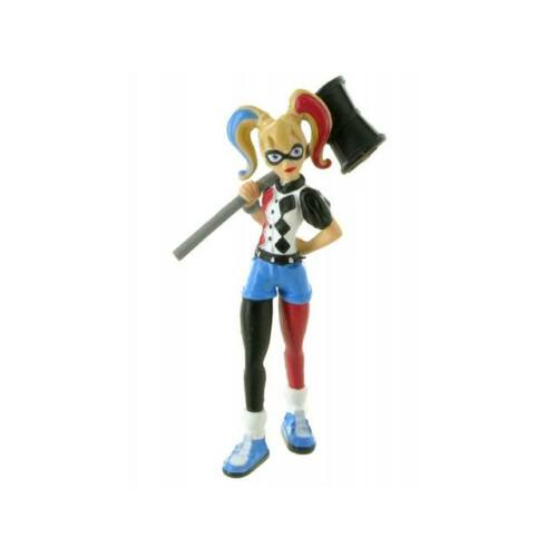 Harley Quinn kis gumírozott műanyag figura