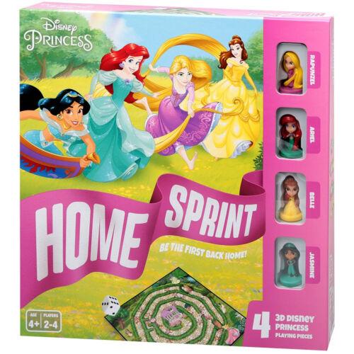 Disney Hercegnők Hazafutás társasjáték műanyag figurákkal