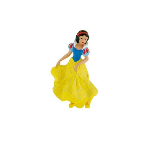 Hófehérke gumírozott műanyag figura