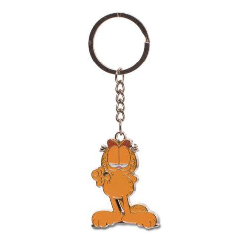 Garfield fém kulcstartó
