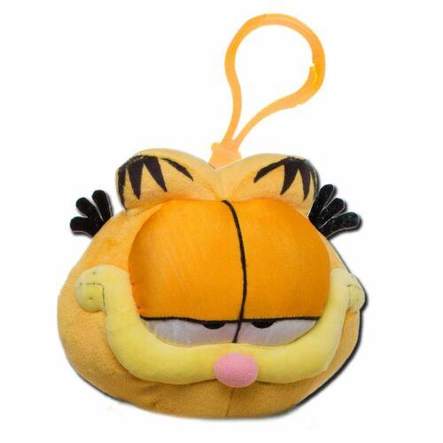 Garfield plüss kulcstartó
