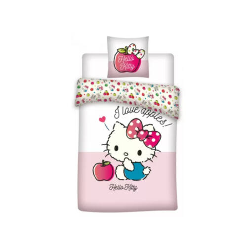 Hello Kitty ovis ágyneműhuzat szett