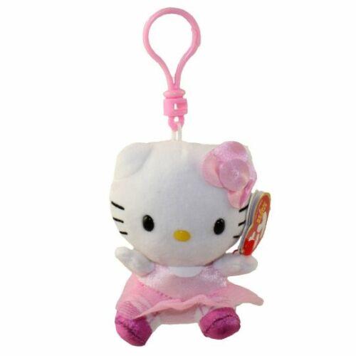 Hello Kitty plüss kulcstartó