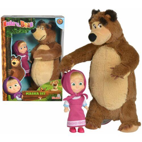 Másha és a medve figura szett