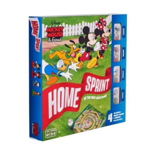 Mickey egér Hazafutás társasjáték műanyag figurákkal