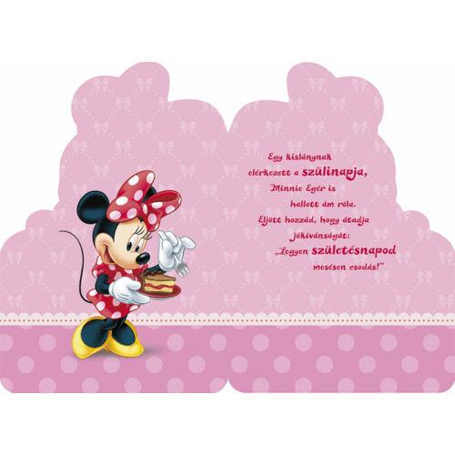 hello kitty boldog születésnapot Minnie egér sütis képeslap   Boldog születésnapot!   Képeslapok  hello kitty boldog születésnapot
