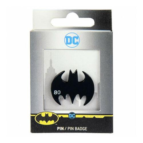 Batman formájú prémium fém kitűző