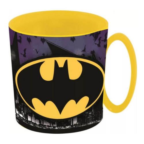 Batman logós mikrózható műanyag bögre
