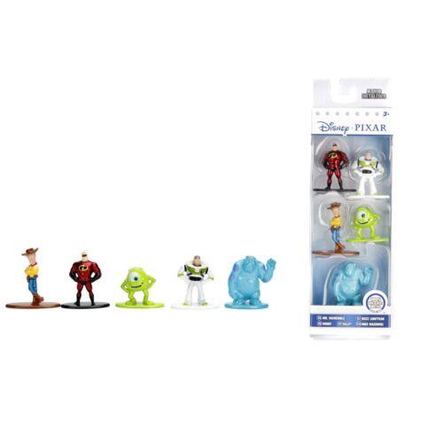 5 db-os Disney Pixar klasszikusok kis fém figura szett