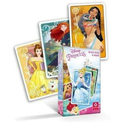 Disney hercegnők Fekete Péter és memória kártyajáték