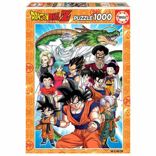 DragonBall Z puzzle - 1000 db kirakós