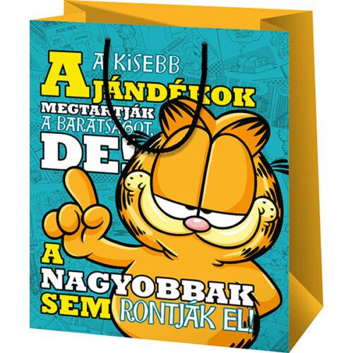 Garfield közepes ajándéktasak