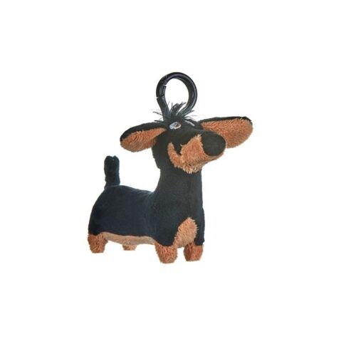 A Kis kedvencek titkos élete Pajti akasztós kis plüssfigura 10 cm - Pajti, a tacskó