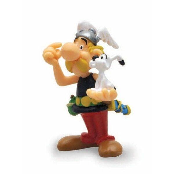 Asterix és Idefix műanyag figura