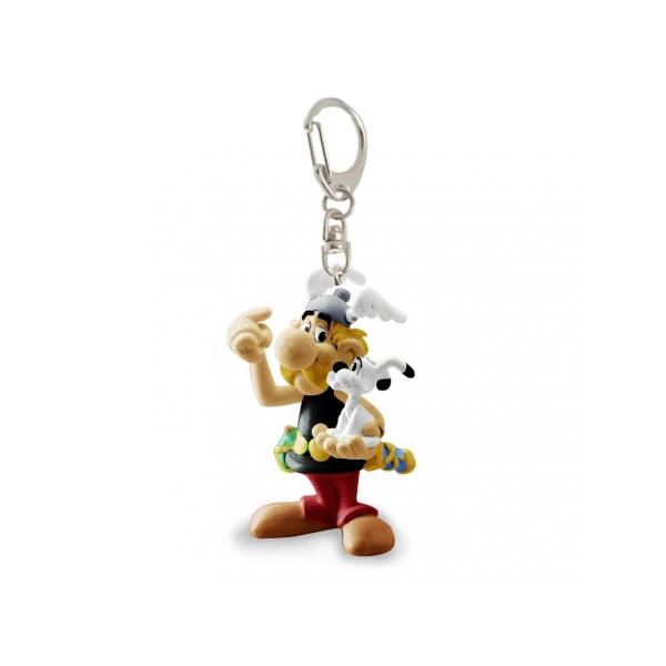 Asterix és Idefix műanyag kulcstartó
