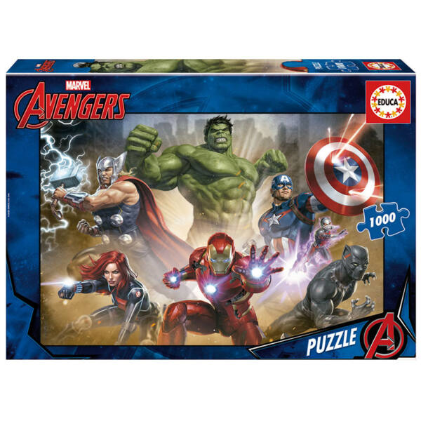 1000 db-os Avengers puzzle