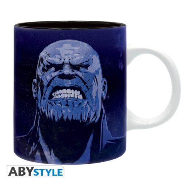 Thanos kerámia bögre MARVEL díszdobozban