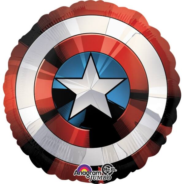 Avengers Amerika Kapitány pajzsa lufi