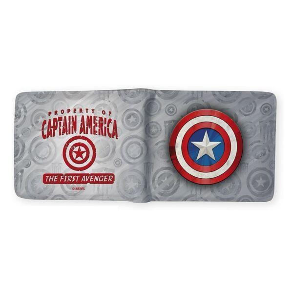 Amerika Kapitány logós pénztárca