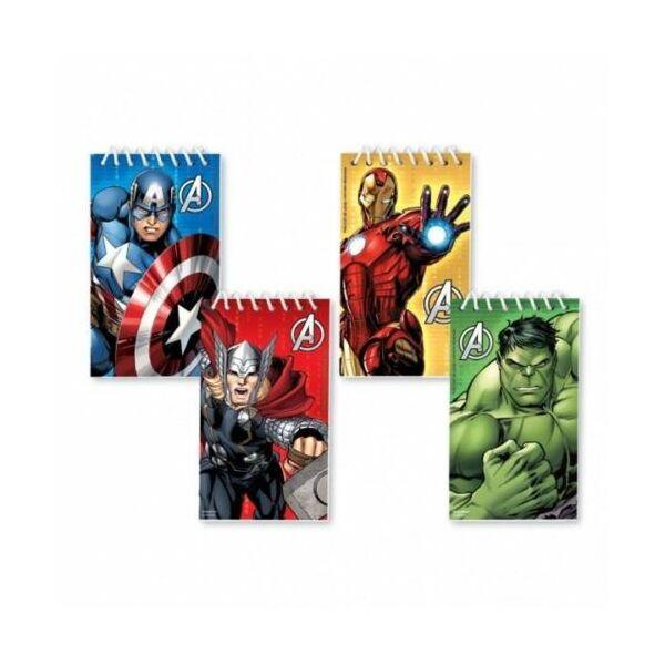 Avengers mini notesz szett