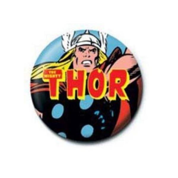 Thor pici kitűző