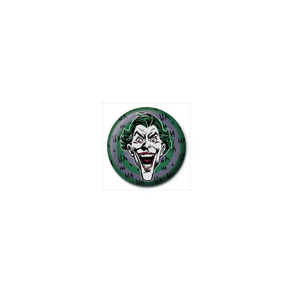 Joker fej pici kitűző