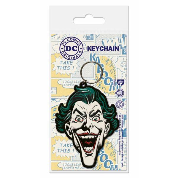 Joker lapos kulcstartó