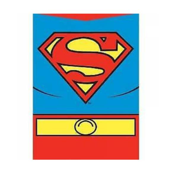 Superman logós fém hűtőmágnes