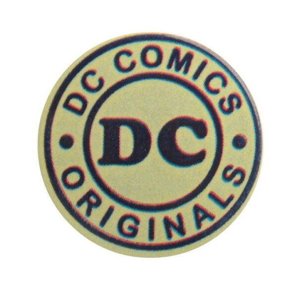 DC Comics Originals logós pici kitűző