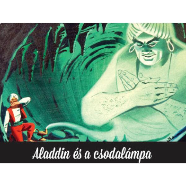 Aladdin és a csodalámpa diafilm