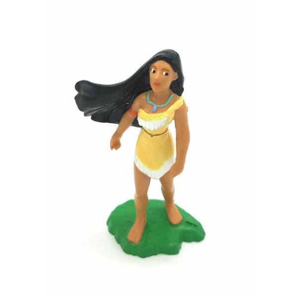 Pocahontas gumírozott műanyag figura