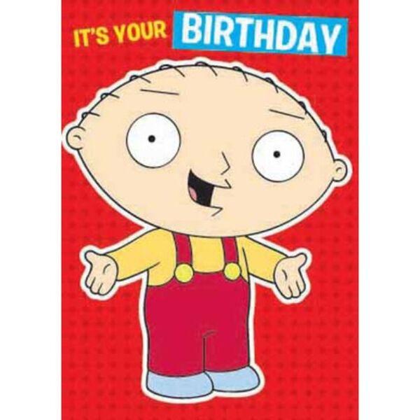 Family Guy képeslap