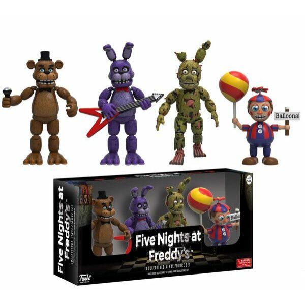 Five Nights at Freddy's mozgatható figura szett