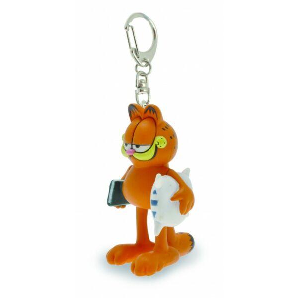 Garfield műanyag kulcstartó
